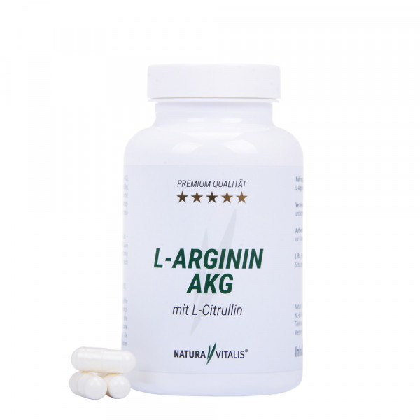 L-Arginin AKG mit L-CITRULLIN - 120 Kapseln