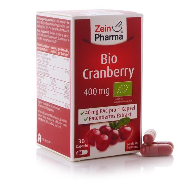 Bio Cranberry 30 Kapseln