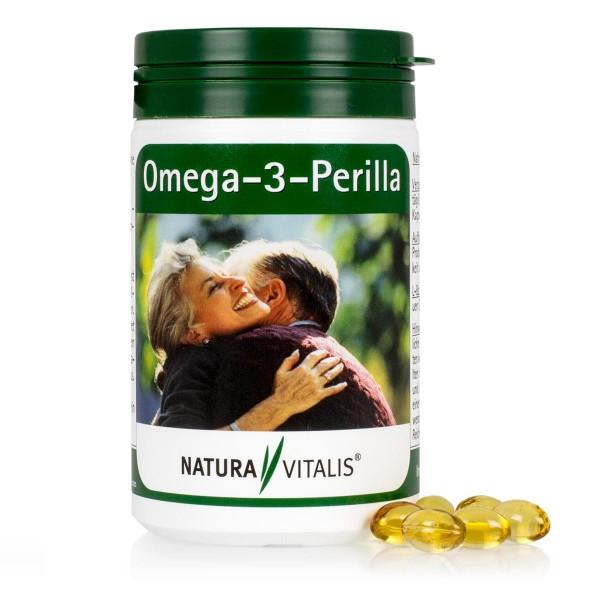 Omega-3-Perilla - pflanzliches Omega-3-Öl - 240 Kapseln