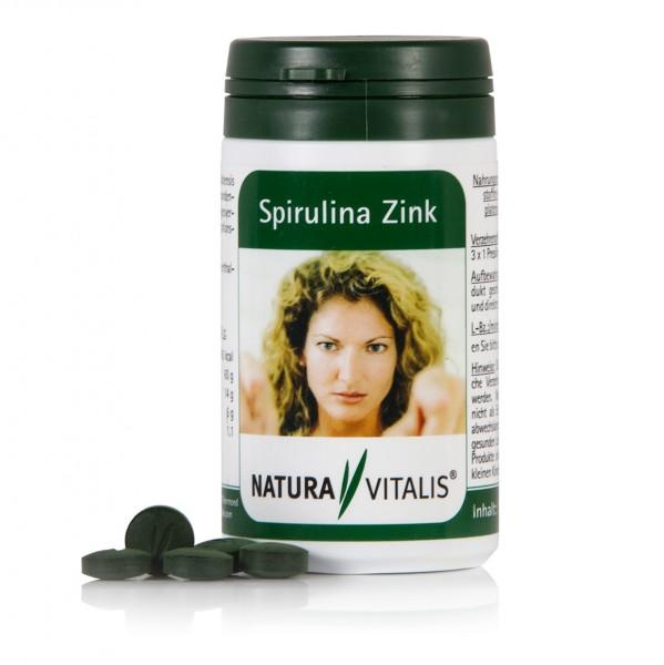 Spirulina-Zink - 180 Presslinge