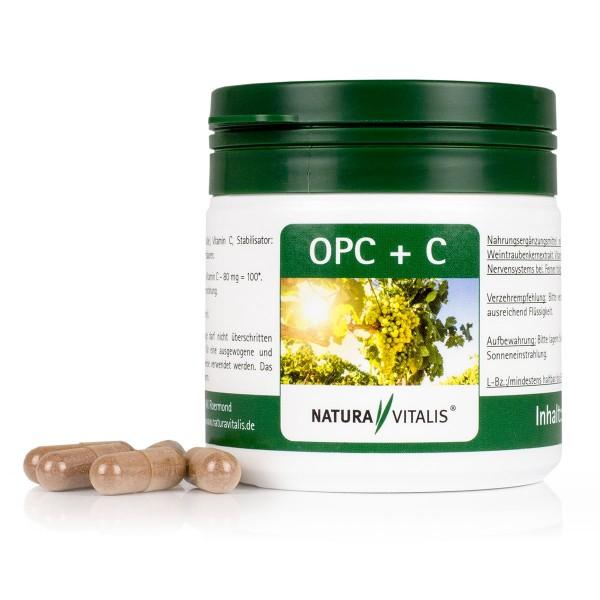 OPC + Vitamin C - 120 Kapseln