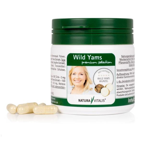 Wild Yams premium selection - 120 Kapseln