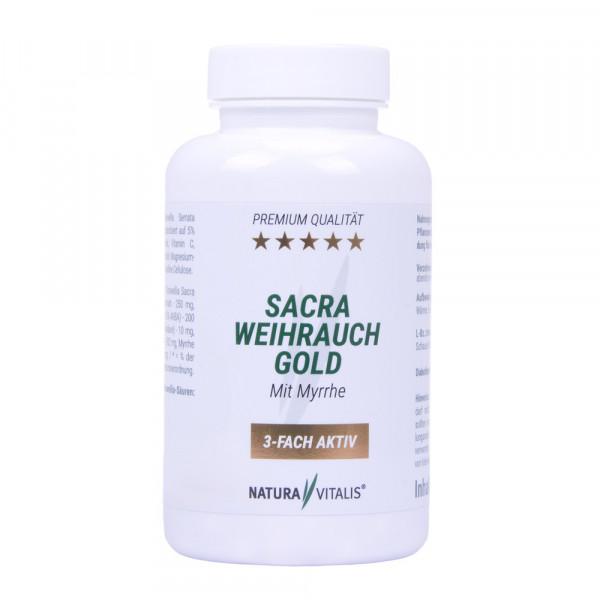 Sacra Weihrauch GOLD - 120 Kapseln