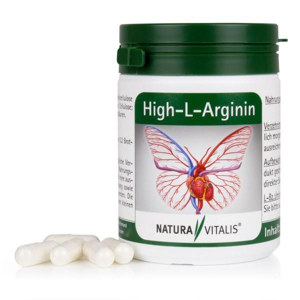 High-L-Arginin - 120 Kapseln