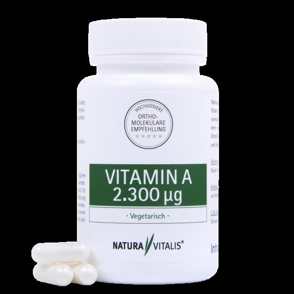 Vitamin A - HOCHDOSIERT - 90 Kapseln