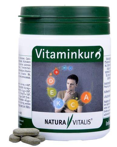"1933 - Vitaminkur ""Mann"" 180 Presslinge"