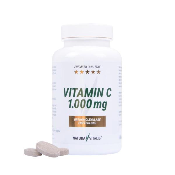 Vitamin C - HOCHDOSIERT - 1000mg (120 Presslinge)