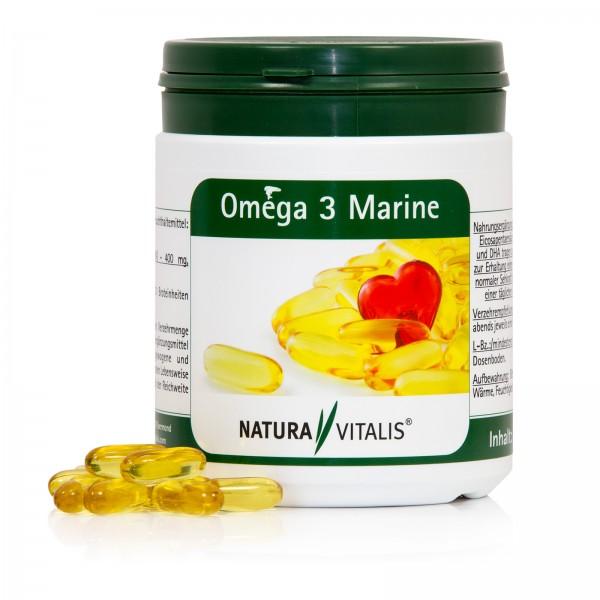 Oméga 3 Marine mit Fischöl - 250 Kapseln