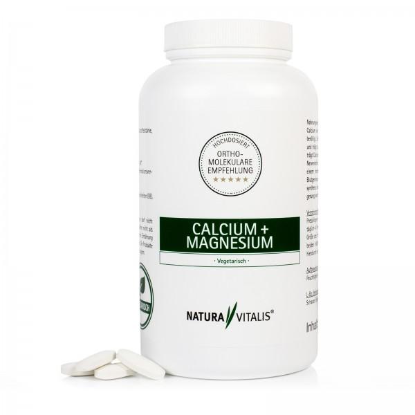 Calcium + Magnesium - HOCHDOSIERT - 240 Presslinge