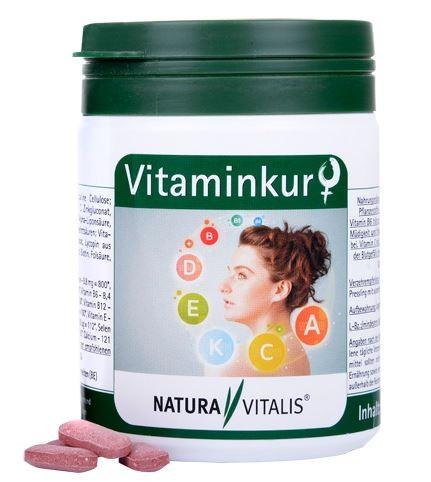 "1930 - Vitaminkur ""Frau"" 180 Presslinge"