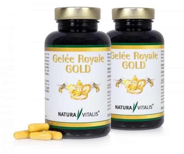 Set: Gelée Royale Gold - 2x 180 Kapseln