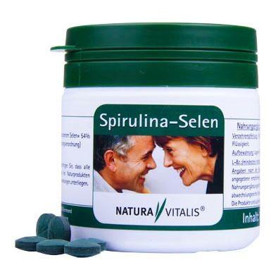 1792 - Spirulina Selen 180 Presslinge