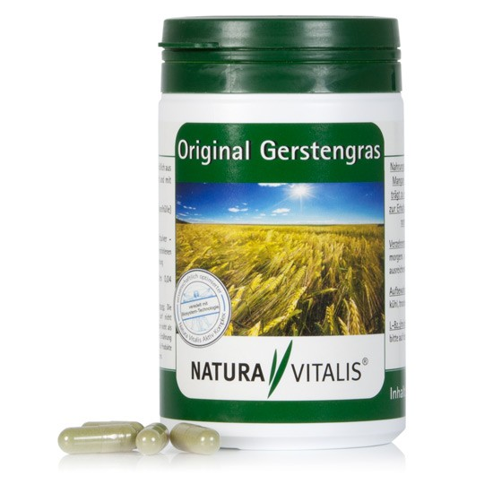 Original Gerstengras - 240 Kapseln