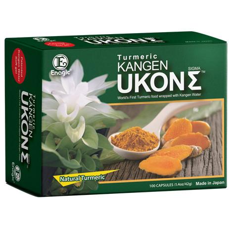 Enagic Kangen Ukon Tumeric (Kurkuma) - 100 Softgels