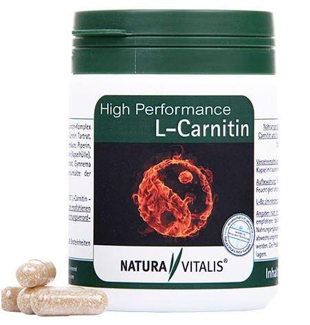 High Performance L-Carnitin - 120 Kapseln