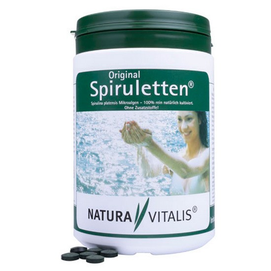 Original Spiruletten - 1500 Spirulina-Presslinge