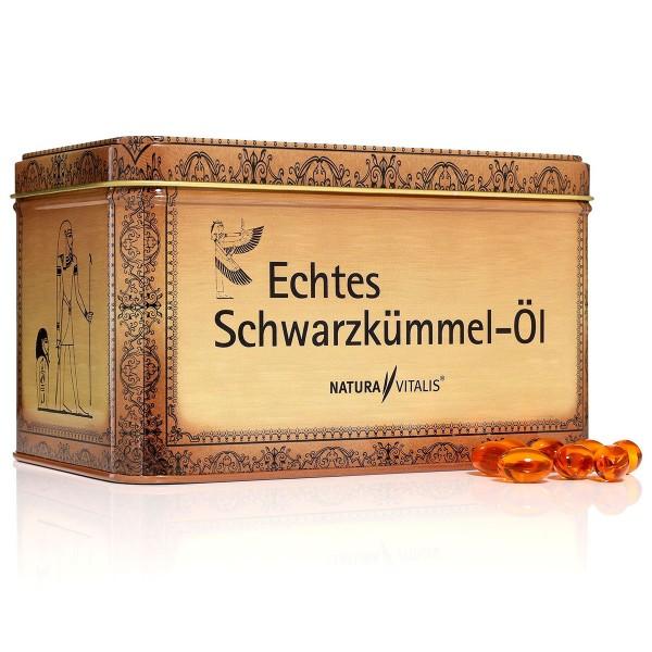Original ägyptisches Schwarzkümmelöl - 730 Softgels