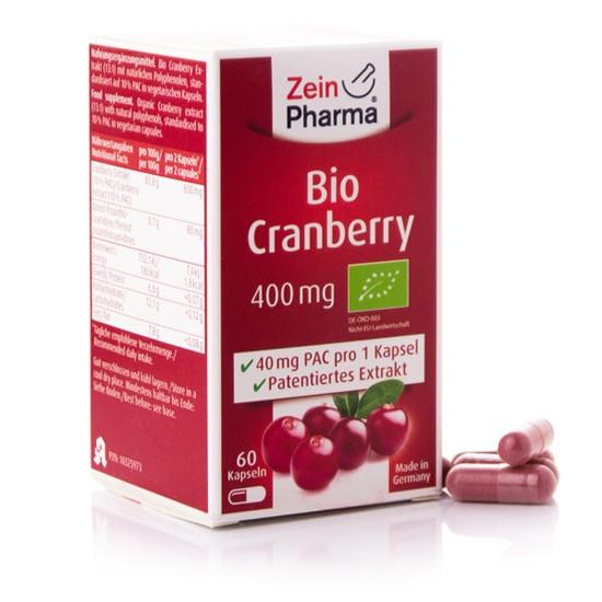 Bio Cranberry Kapseln - 60 Kapseln