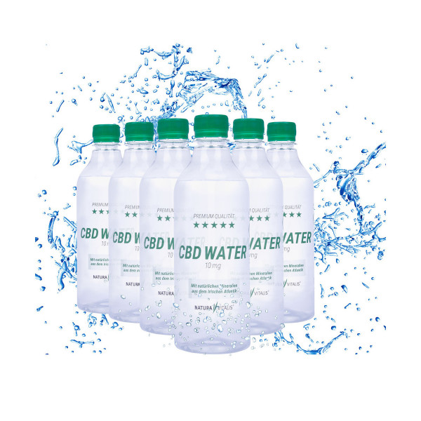 CBD Water - 6er Pack